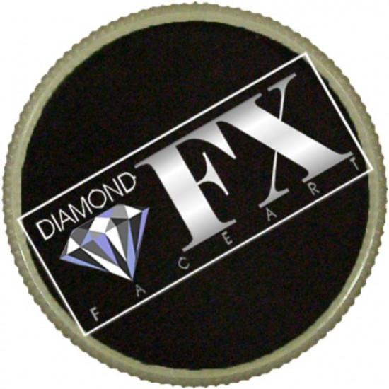Fekete arcfesték - Fekete 45g - Diamond FX Essential Black 45g Tégelyes arcfesték