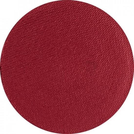 Piros arcfesték - Gyöngyház Sötétvörös 16g - Superstar Rusty (shimmer) Tégelyes arcfesték